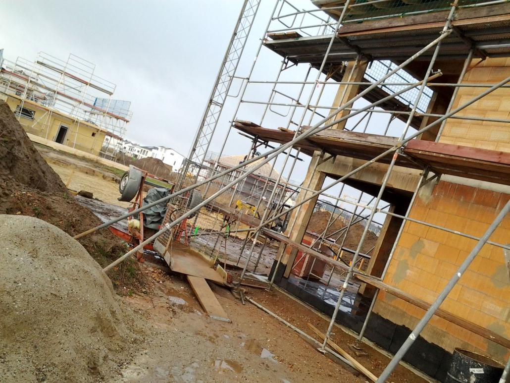 Gerüst Arbeitsgerüst für Neubau in der Nähe von Hannover
