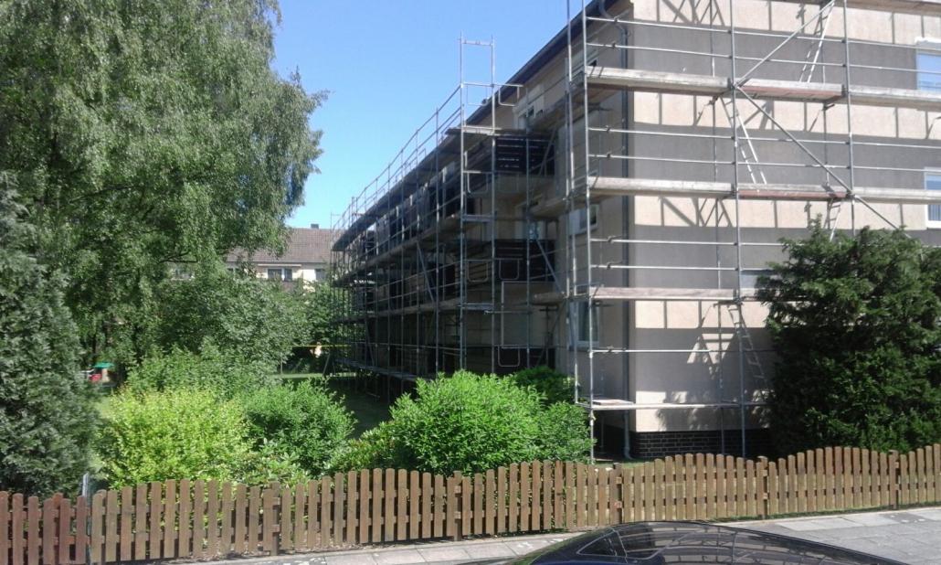 Gerüstbau Fassadengerüst in der Nähe von Hannover