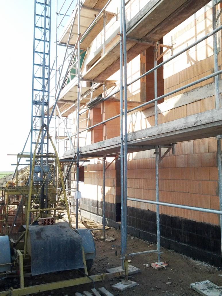 Gerüst für Neubau Fassadengerüst in der Region Hannover