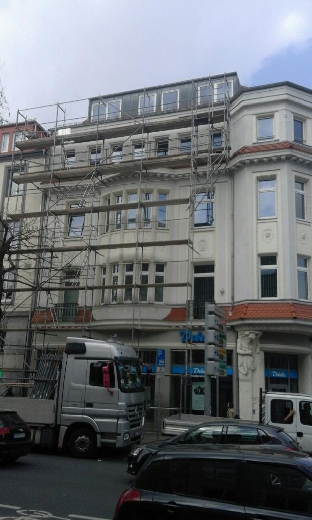 Gerüst Fassadengerüst in Hannover
