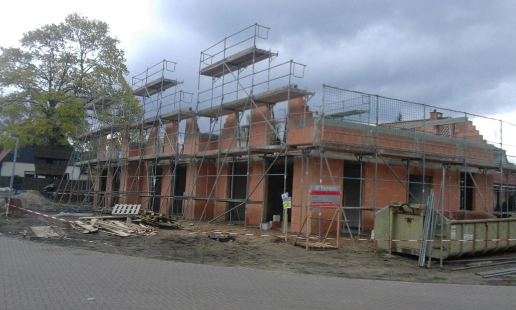 Gerüst Fassadengerüst für Neubau in Hannover