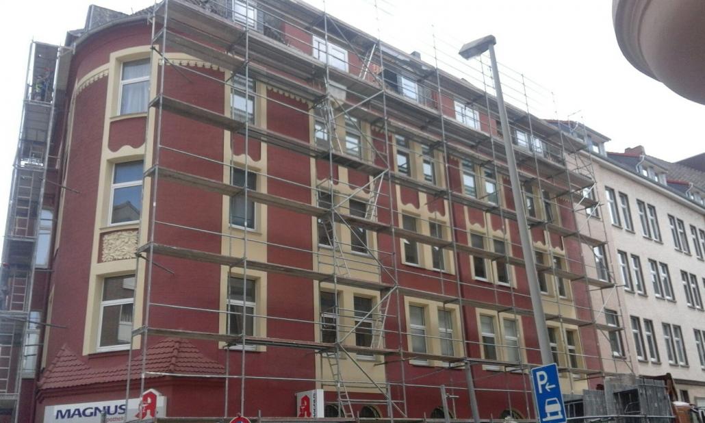 Gerüst Fassadengerüst in der Region Hannover