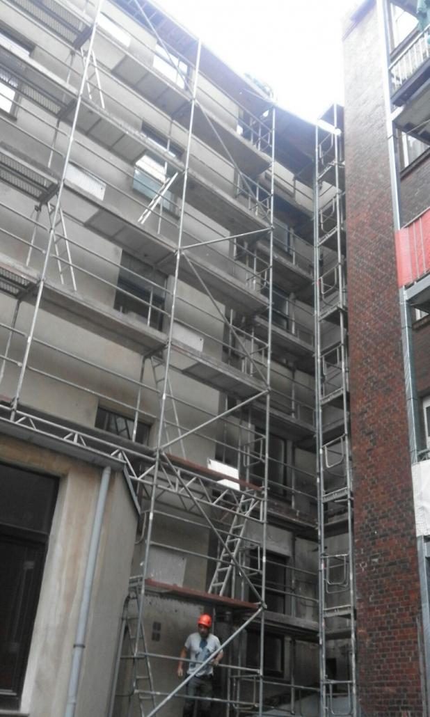 Gerüstbau Gerüst Fassadengerüst in Hannover