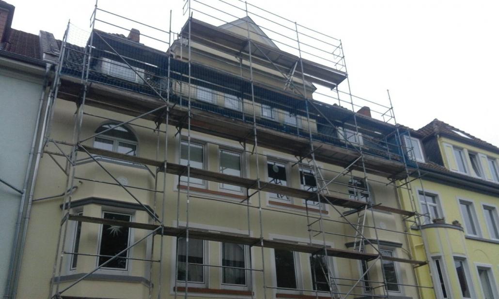 Gerüstbau Fassadengerüst in Hannover