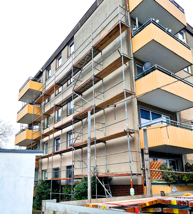 Gerüstbau Arbeitsgerüst in Hannover Lehrte