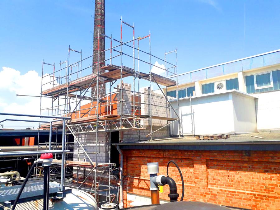 Gerüstbau Industriegerüst Baugerüst vom Gerüstbauer in Hannover